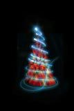 de boom van kleurenkerstmis Royalty-vrije Stock Afbeeldingen