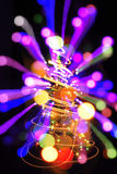 de boom van kleurenkerstmis Stock Foto