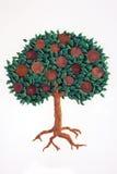 De boom van muntstukken Stock Afbeelding