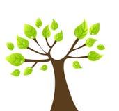 De boom van Vectir Stock Fotografie