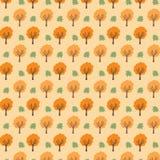 De boomachtergrond van de herfst EPS 8 inbegrepen dossier Royalty-vrije Stock Foto's