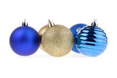 De boomdecoratie van het nieuw-jaar Royalty-vrije Stock Foto's