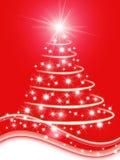 De boomillustratie van Kerstmis vector illustratie