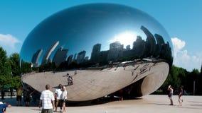 De boon in Chicago stock videobeelden