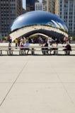 De Boon van Chicago Stock Foto's