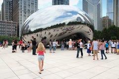 De Boon van Chicago Stock Afbeeldingen