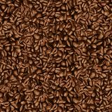 De boonbehang van de koffie Royalty-vrije Stock Afbeeldingen