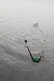 De boot daalde. Royalty-vrije Stock Afbeelding