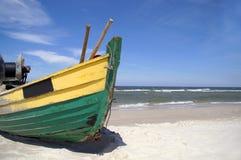 De boot Debki van vissen Royalty-vrije Stock Foto's