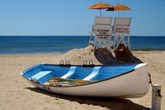 De boot van de badmeester Stock Afbeelding