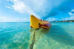 De boot van de banaan Stock Afbeeldingen