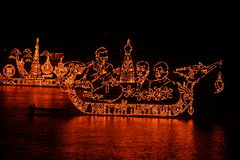De boot van de brand Royalty-vrije Stock Foto