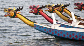 De boot van de draak royalty-vrije stock foto