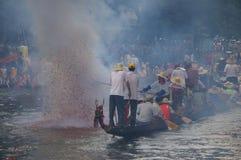 De boot van de draak Stock Foto's