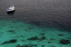 De boot van de duiker Royalty-vrije Stock Foto