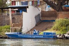 De boot van de gendarmerie in Bamako stock foto