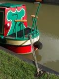 De Boot van de kanaalvakantiewoning Stock Foto's