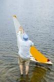 De boot van de lancering Stock Foto's