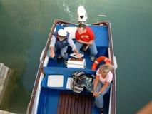 De boot van de liefde Stock Afbeeldingen