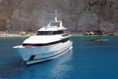 De boot van de motor Stock Fotografie
