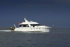De boot van de motor stock afbeelding