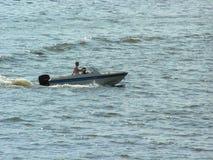 De boot van de motor Stock Foto
