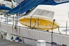 De boot van de noodsituatie Stock Fotografie