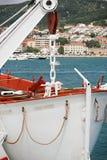De boot van de redding Stock Afbeelding