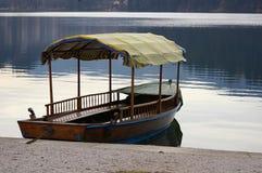 De boot van de rij Stock Foto
