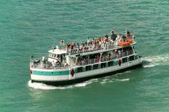 De boot van de rivier Stock Foto