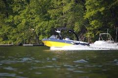 De Boot van de ski royalty-vrije stock foto's
