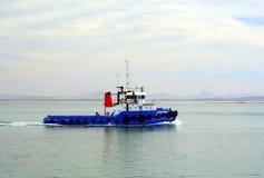 De boot van de sleepboot Stock Afbeelding