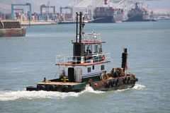 De Boot van de sleepboot royalty-vrije stock afbeelding