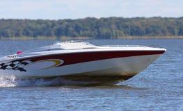De boot van de snelheid Royalty-vrije Stock Afbeeldingen