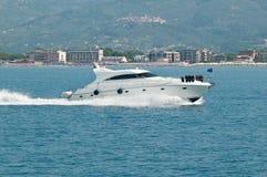 De boot van de snelheid Stock Foto's