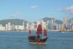 De boot van de troep in Hongkong Royalty-vrije Stock Afbeeldingen