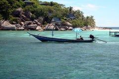 De Boot van de vakantie stock afbeelding