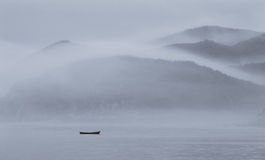 De boot van de visser royalty-vrije stock afbeeldingen