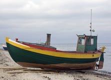 De boot van de visser Royalty-vrije Stock Foto's