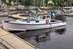 De boot van de zeekreeft Stock Fotografie