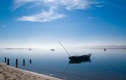De boot van Fishermanâs Stock Foto