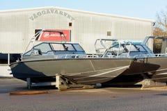 De boot van het Anytecaluminium Stock Foto's