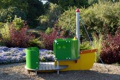 De Boot van het park Stock Afbeelding