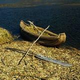 De boot van het riet Stock Foto's