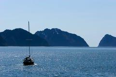 De boot van het zeil Royalty-vrije Stock Foto