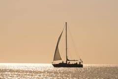 De boot van het zeil Royalty-vrije Stock Foto's