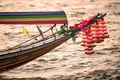 De boot van Longtail Stock Fotografie