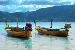 De boot van Longtail Royalty-vrije Stock Fotografie