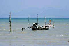 De boot van Longtail in Thailand royalty-vrije stock foto's
