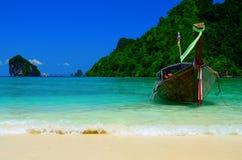 De boot van reis Stock Foto's